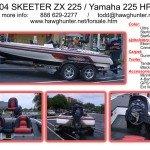 2004 Skeeter ZX225