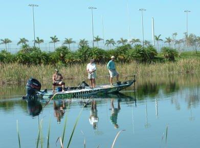 Miami Speedway Fishing Lake