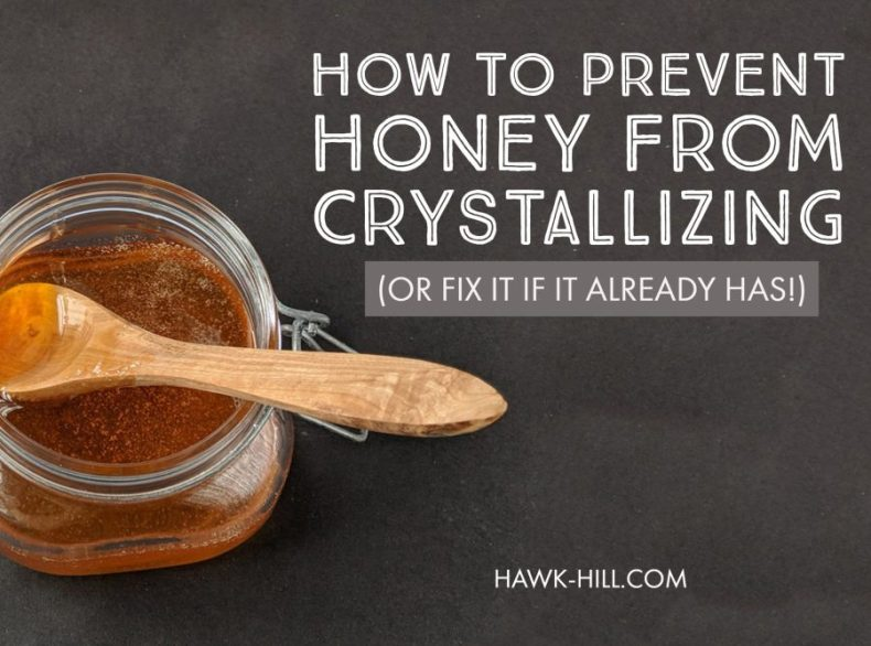 1 Easy Tip to prevent honey from crystallizing - & fix it if it already has