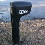 How To Apply Vinyl Number Mailbox Decals The Easy Way Hawk Hill