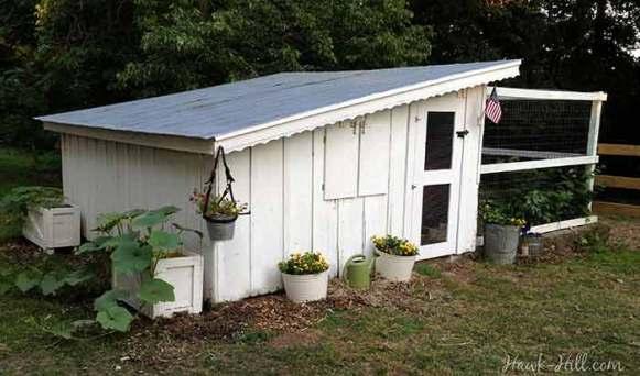 Restored Vintage 1920's Chicken Coop