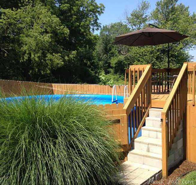 Ideas to Make a Cheap Above Ground Pool Look Luxurious