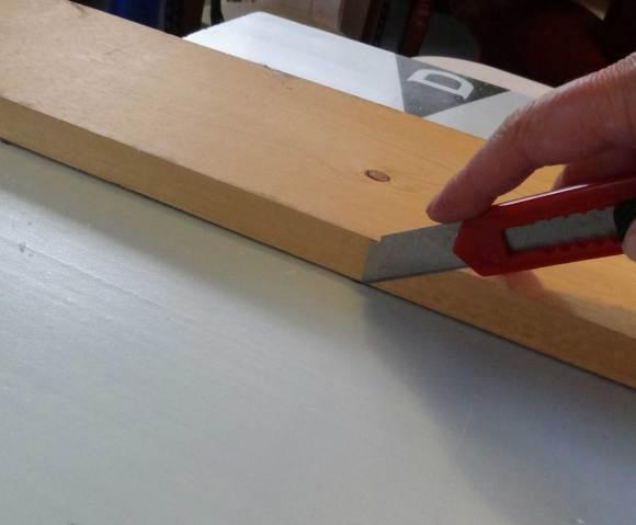 scoring foam board for dividers
