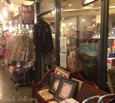 The pike place market second hand shop