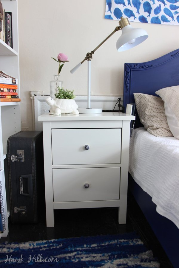 HEMNES 2-drawer chest Ikea Nightstand in Seattle Apartment