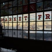 The View from Pike Place Market- no Filter, that's just morning over the Puget Sound