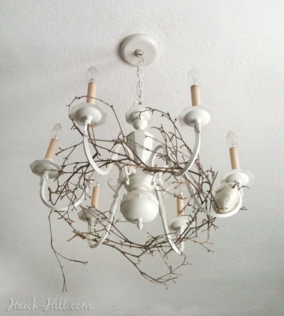 This woodland inspired chandelier decorated my bedroom for a few years in my 20's