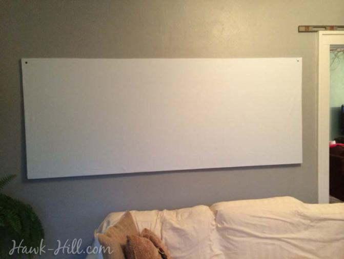 how to make a fabric covered real pinboard for under $20 Image _27