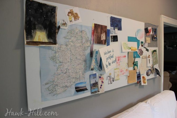 my real art studio idea pinboard 8