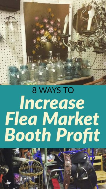 Tips for maximizing profit in a flea market booth