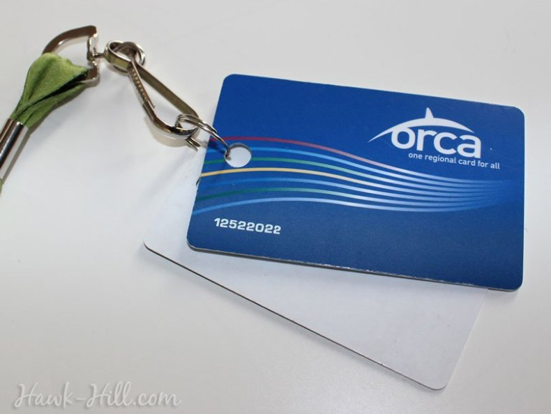 How to Punch a Hole in an Orca Bus Pass Card
