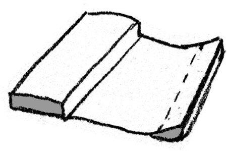 Doodle Illustration: Making a Badckdrop Curtain