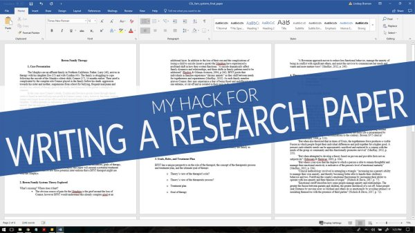 S study hack for writing academic research paper in less time
