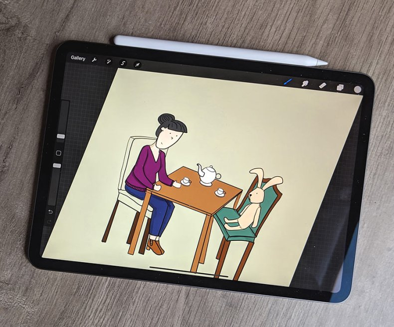 A digital artist's Side by side comparison review of drawing on a Surface Pro 4 vs the 2018 11 inch iPad Pro and Second Generation Apple Pencil