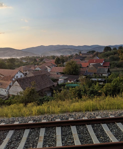 Romanian trains offer a glimpse into villages and iconic landscapes