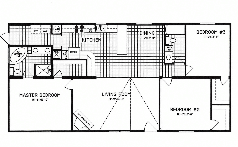 3 Bedroom Floor Plan C