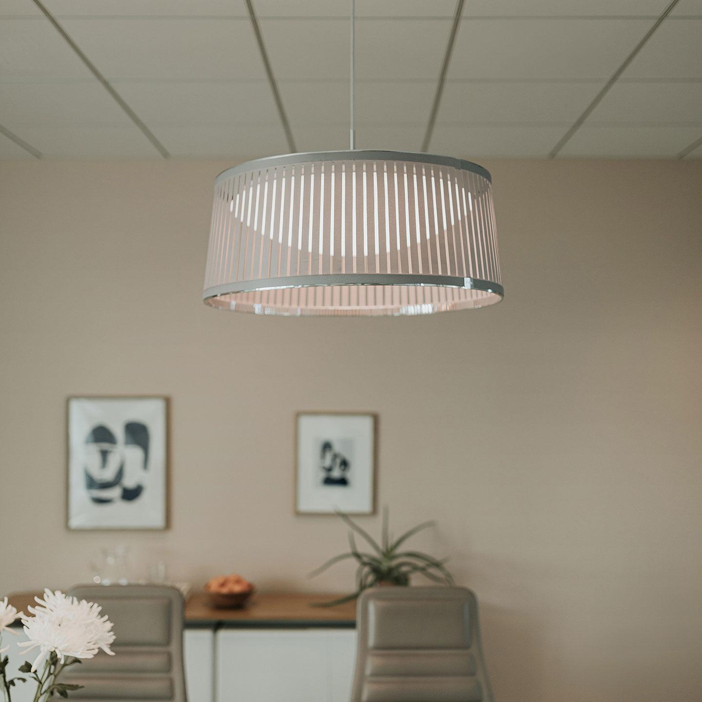 see haworth collection s solis drum pendant lighting haworth