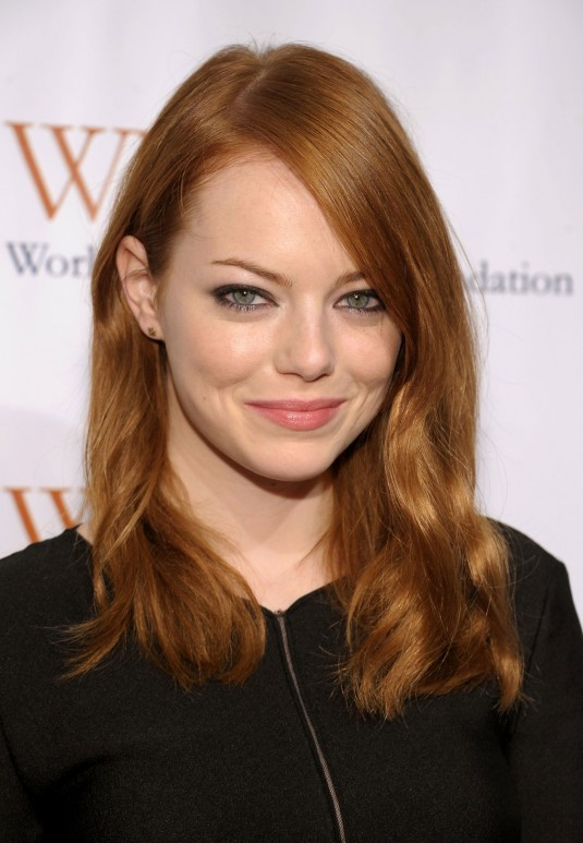 Emma Stone At Worldwide Orphans Foundation Benefit In New