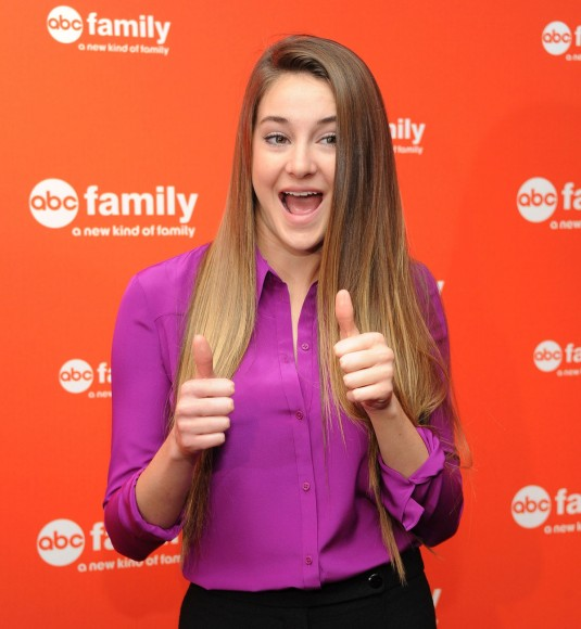 SHAILENE WOODLEY At 2012 ABC Family Upfront Presentation In New York HawtCelebs