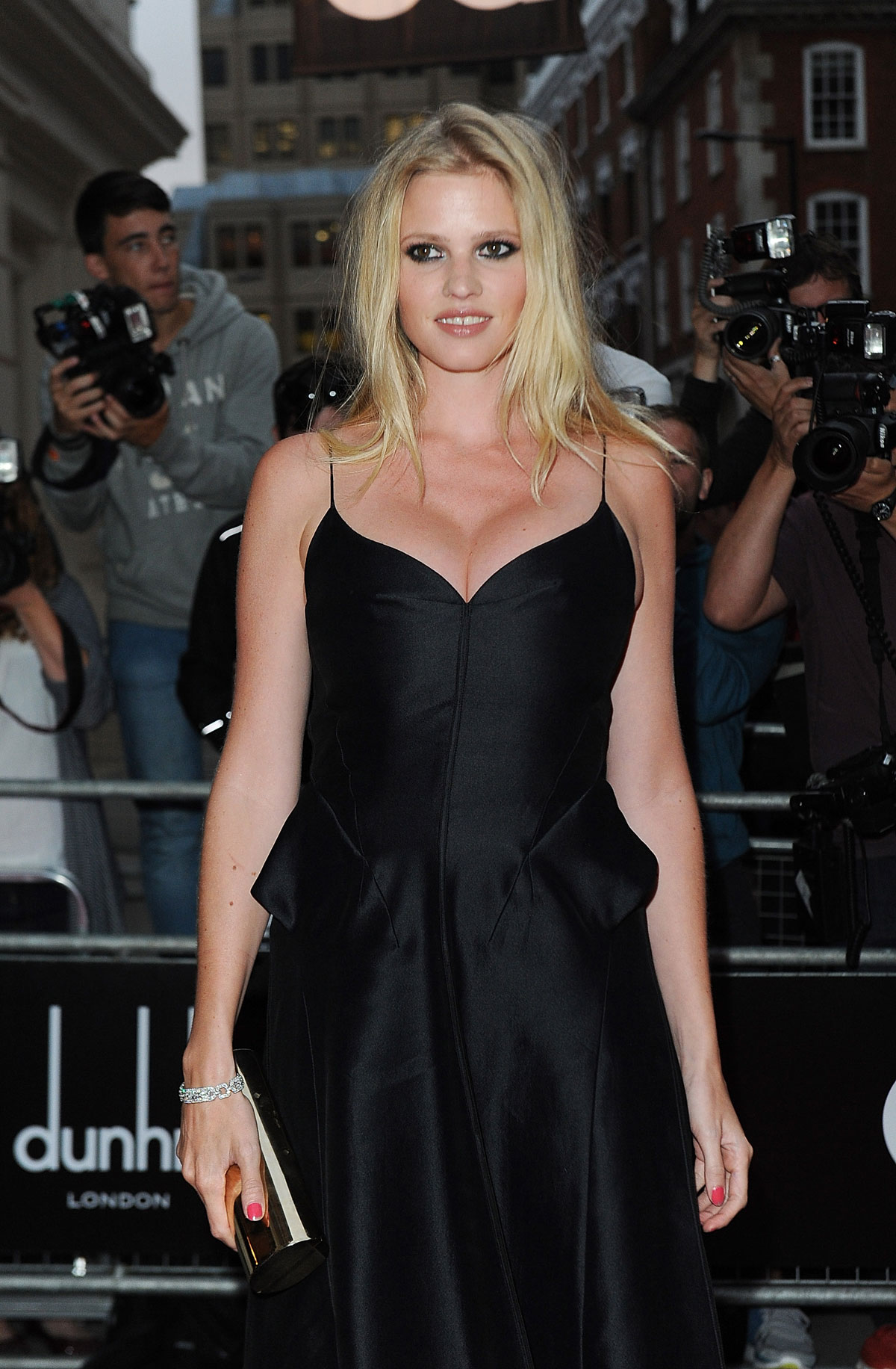 Lara Stone At The Gq Men Of The Year Awards In London