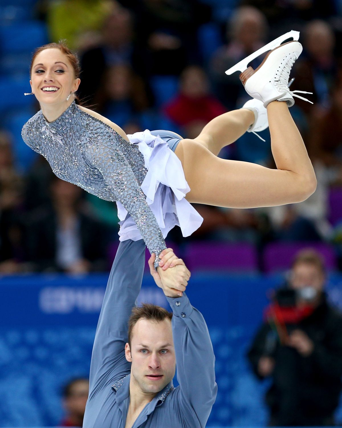 Maylin Wende And Daniel Wende At Winter Olympics In