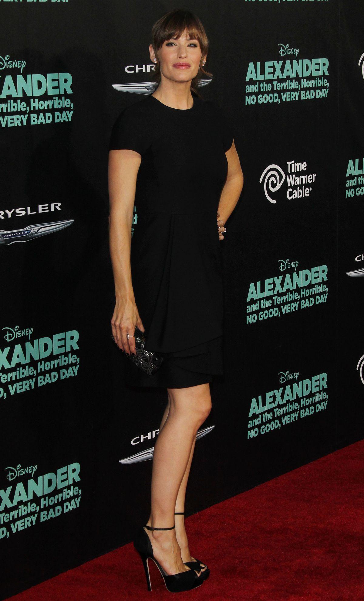 Jennifer Garner At Alexander And The Terrible Horrible