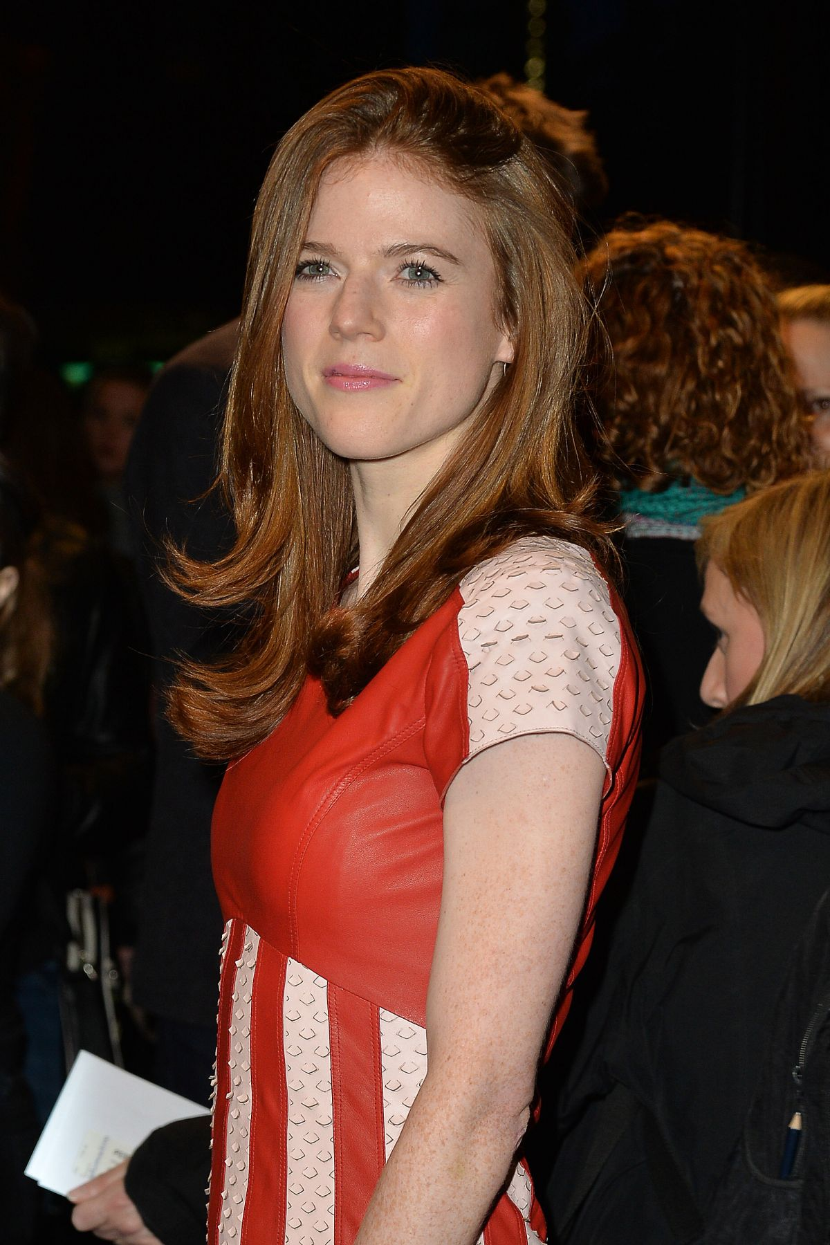 Rose Leslie At People Places And Things Press Night In