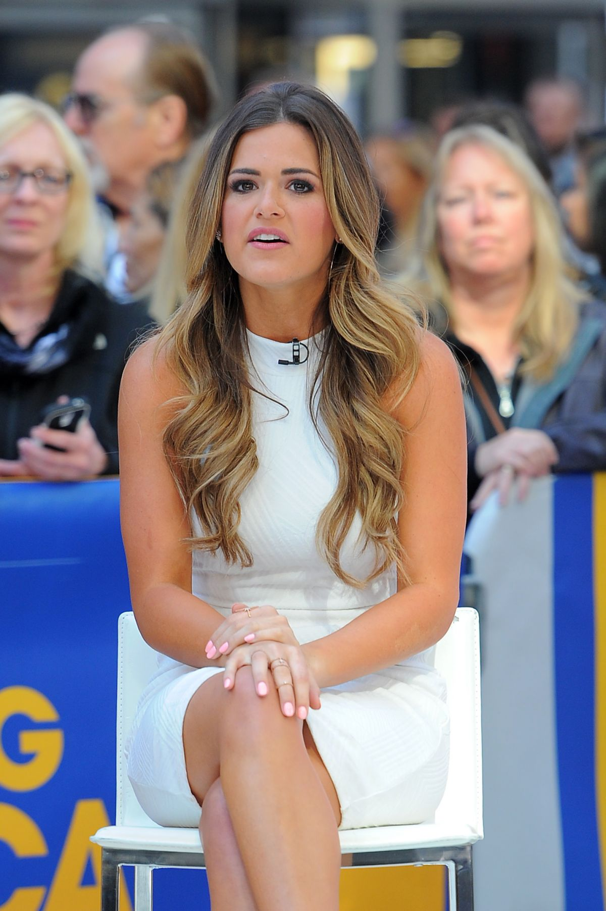 JOJO FLETCHER At Good Morning America In New York 05232016 HawtCelebs