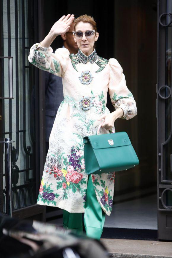 CELINE DION Leaves Her Hotel in Paris 07/02/2017 – HawtCelebs