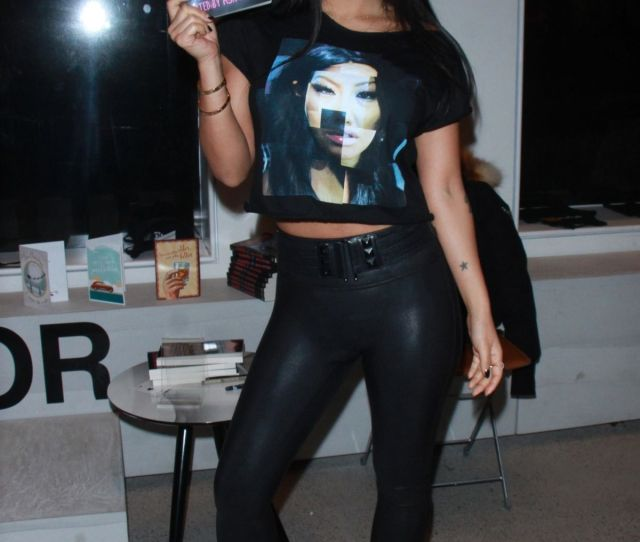 Asa Akira At Pop Up Store In 70 Wooster Street In New York 12