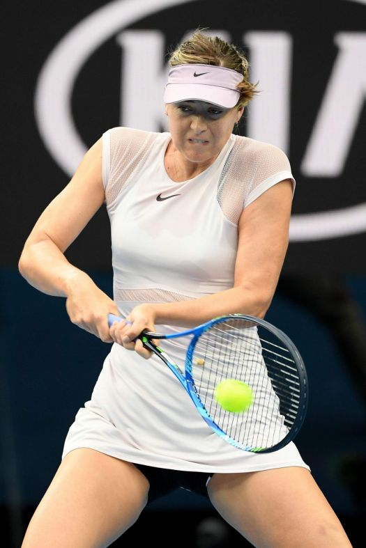 MARIA SHARAPOVA at Australian Open Tennis Tournament in ...