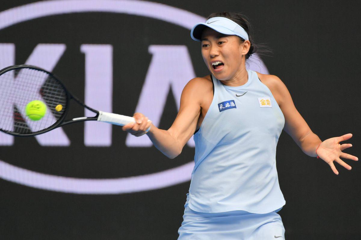 Image result for zhang australian open 2018