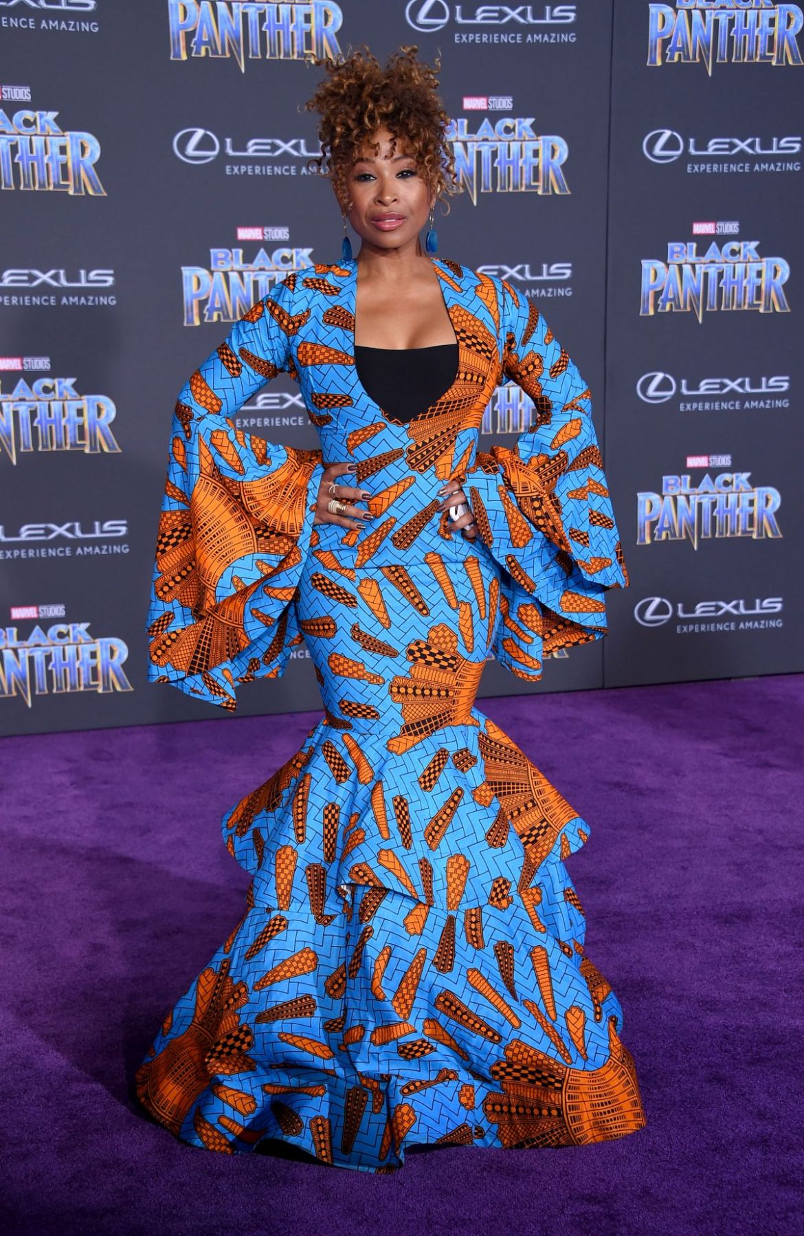 Image result for black panther premiere fashion