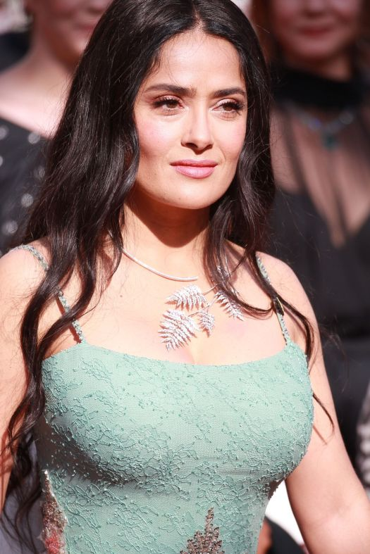 SALMA HAYEK at Girls of the Sun Premiere at Cannes Film ...
