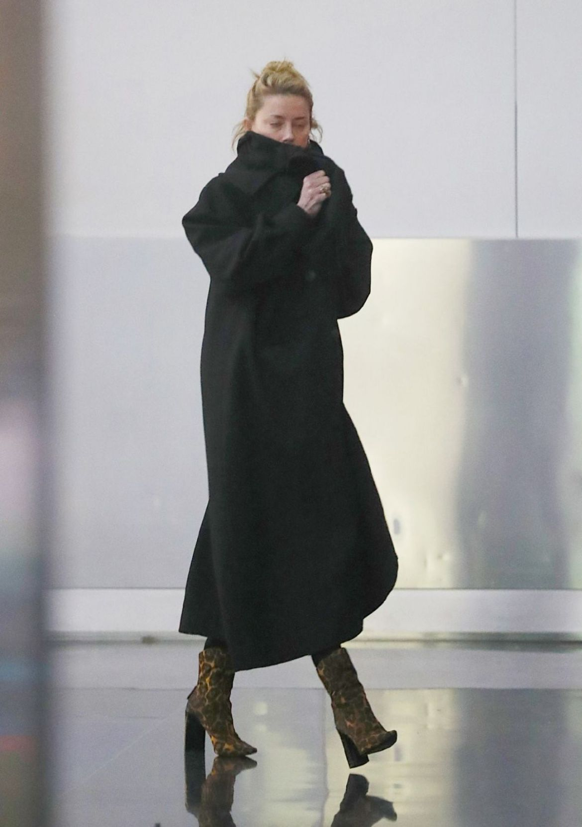 AMBER HEARD at JFK Airport in New York 11/29/2018