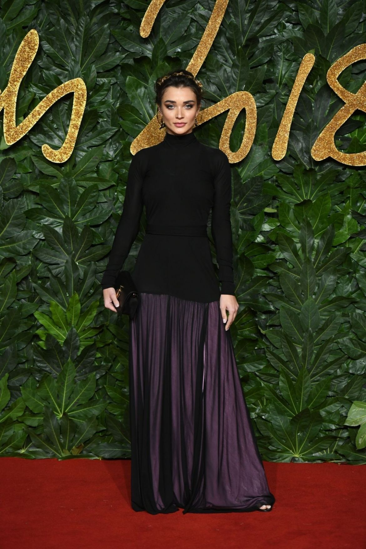 AMY JACKSON at British Fashion Awards in London 12/10/2018