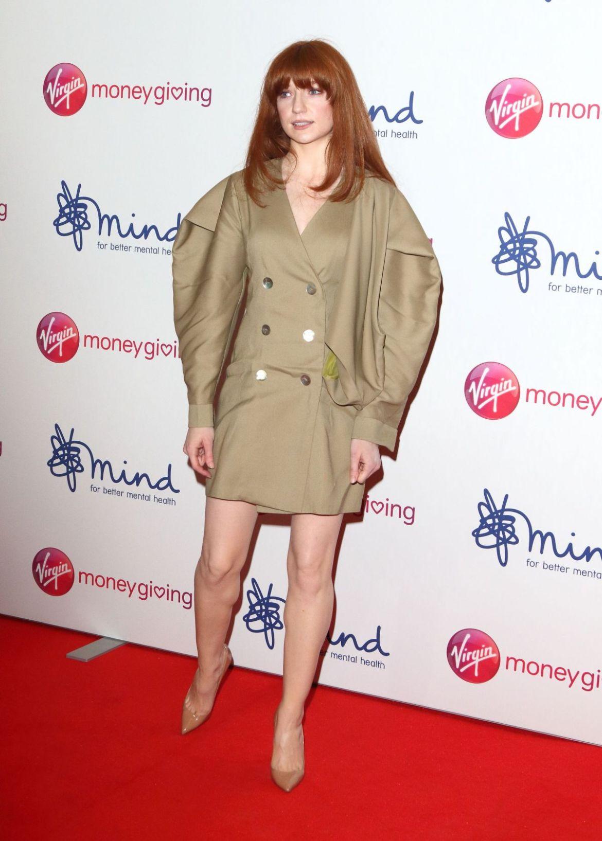 NICOLA ROBERTS at Virgin Money Giving Mind Media Awards in London 11/29/2018