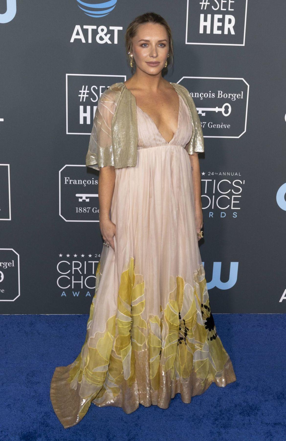 ANNIE STARKE at 2019 Critics' Choice Awards in Santa Monica 01/13/2019