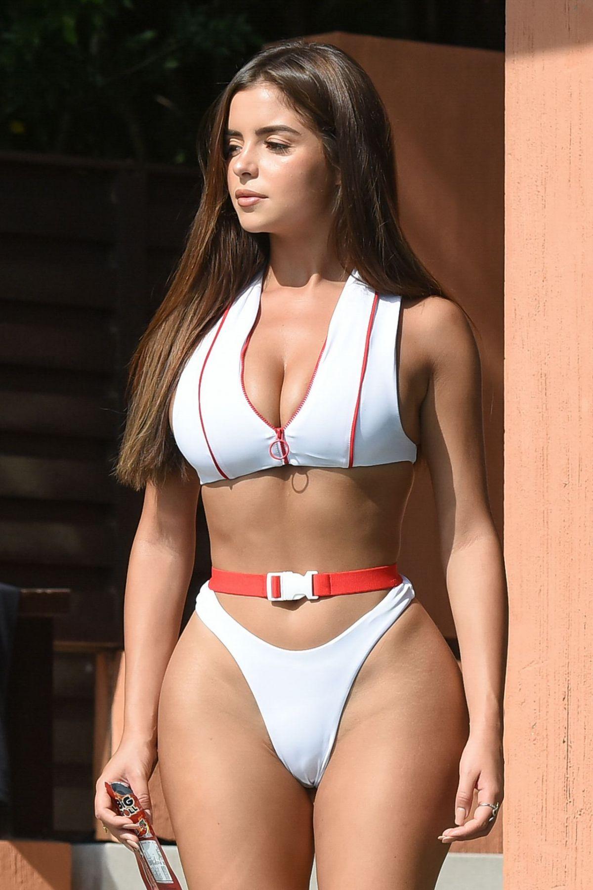 DEMI ROSE MAWBY In Bikini At A Pool In Phuket 01242019