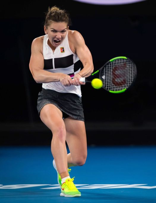 SIMONA HALEP at 2019 Australian Open at Melbourne Park 01 ...
