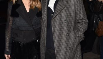 1dcaa002 OLIVIA PALERMO Arrives at Tommy Hilfiger Tommynow Spring 2019: Starring  Tommy x Xendaya Premieres in