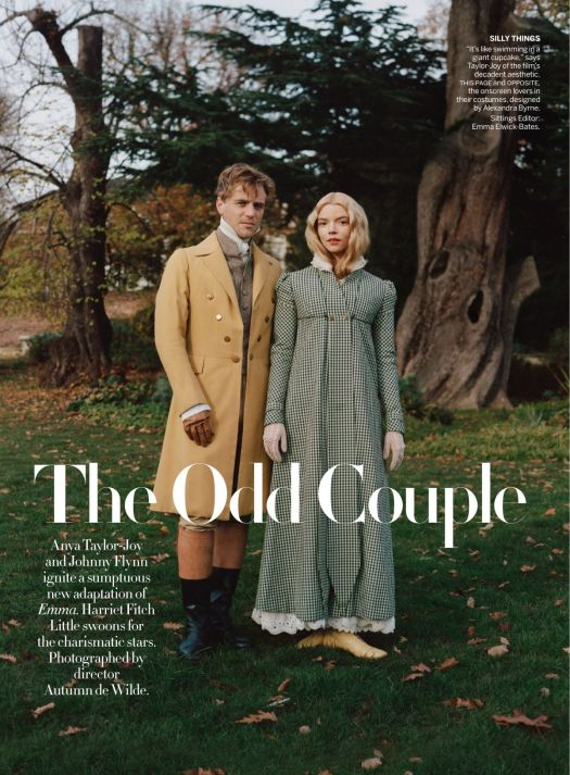 ANYA TAYLOR-JOY and Johnny Flynn in Vogue Magazine ...