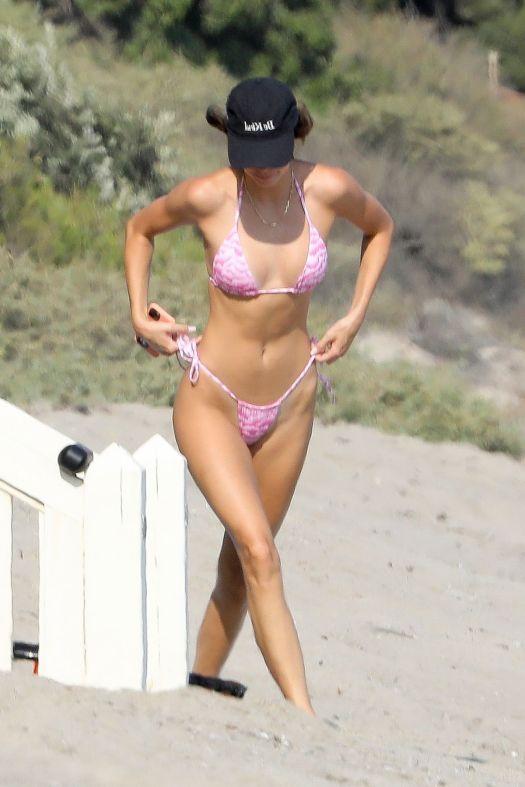 KENDALL JENNER in Bikini at a Beach in Malibu 08/19/2020 ...