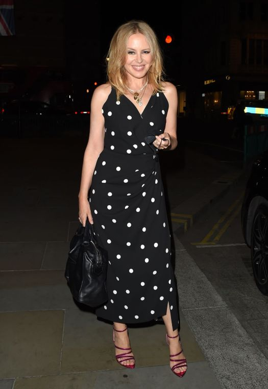 KYLIE MINOGUE Night Out in London 09/21/2020 - HawtCelebs