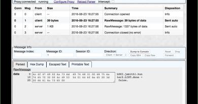 BinProxy –  a Tool for understanding and manipulating binary network traffic