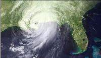 הסופה קתרינה במבט מהחלל