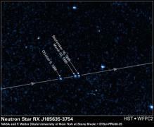 הכוכב הנודד RXJ185635-3754