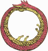 כך תיאר חיי נצח אלכימאי מימי הביניים. תמונה חופשית מתוך wikimedia commons