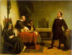 גלילאו במשפטו מול האינקויזיציה. מתוך ויקיפדיה