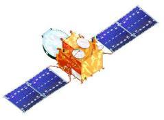 הלוויין עמוס 3. איור: חברת חלל תקשורת